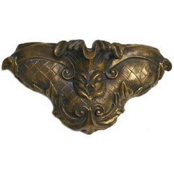 Pentair WallSpring Sconce Fleur De Lis Gray