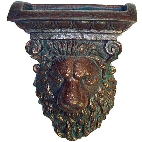 Pentair WallSpring Sconce Sheer Lion Gray