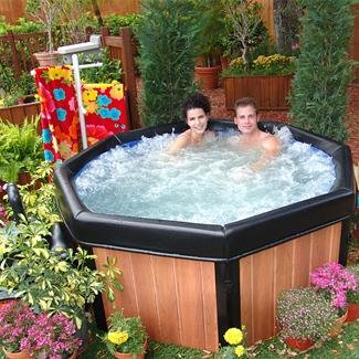 Comfort Line SPANBOX Spa-N-A-Box Portable Hot Tub