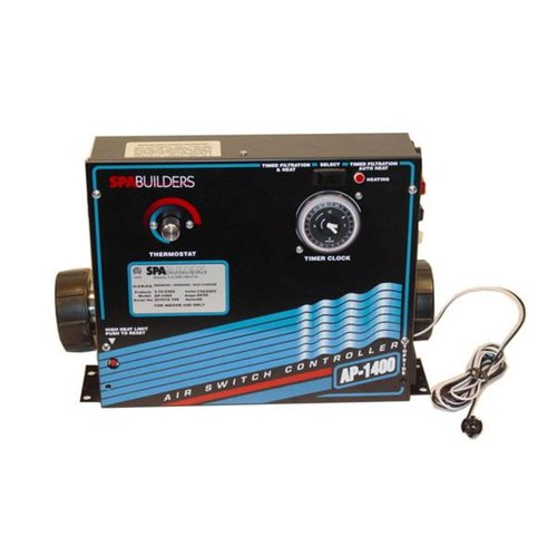 spa builders 3 70 0392 systems control ap 1400 control 120 240v spa builders 3 70 0392 systems control ap 1400 control 120 240v heater and time clock