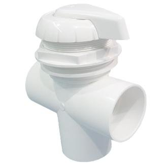 HYDRO AIR VALVE 2 3 WAY GRAY