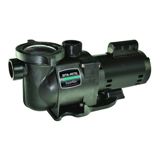 SuperMax 1HP Pool Pump