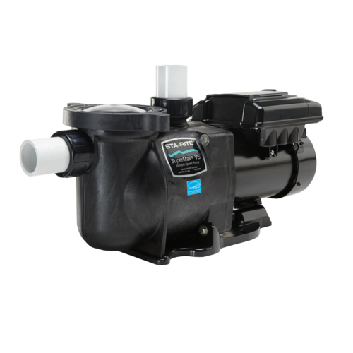 Sta rite supermax vs variable speed energy efficient pool for Variable speed pool motor