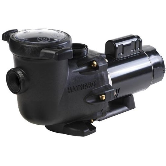 Back Hayward TriStar 2-1/2HP Pump