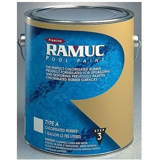 Ramuc A30001 Type A AquaGreen Premium Chlorinated Rubber Paint - 1 Gallon