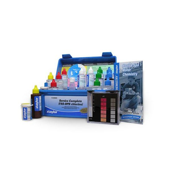 High Range Alkalinity and Chlorine Test Kit
