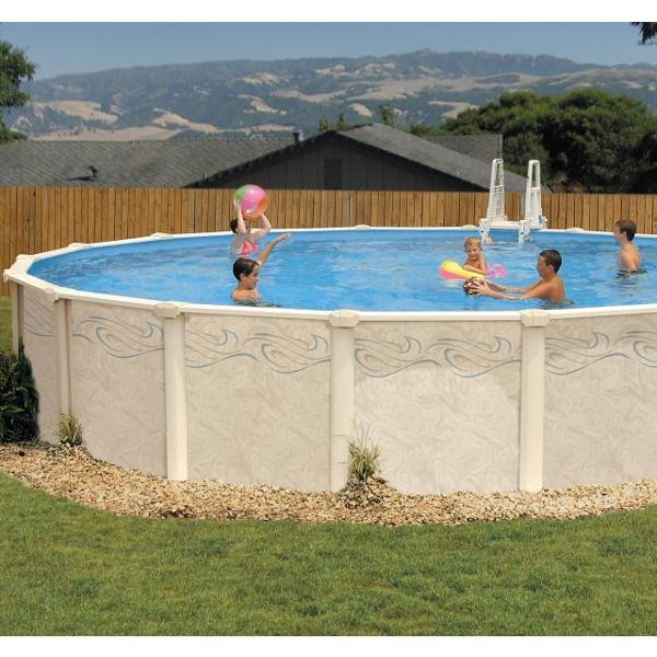 Lomart verona 16 x 28 oval above ground swimming pool - Is there sales tax on swimming pools ...