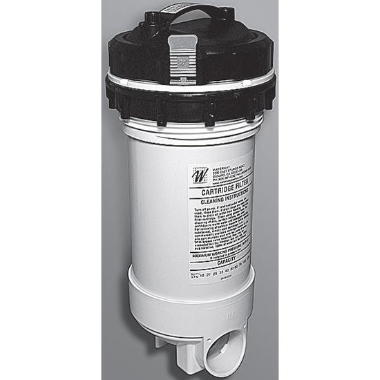 Waterway 25 Sqft. Top Load Filter with Bypass