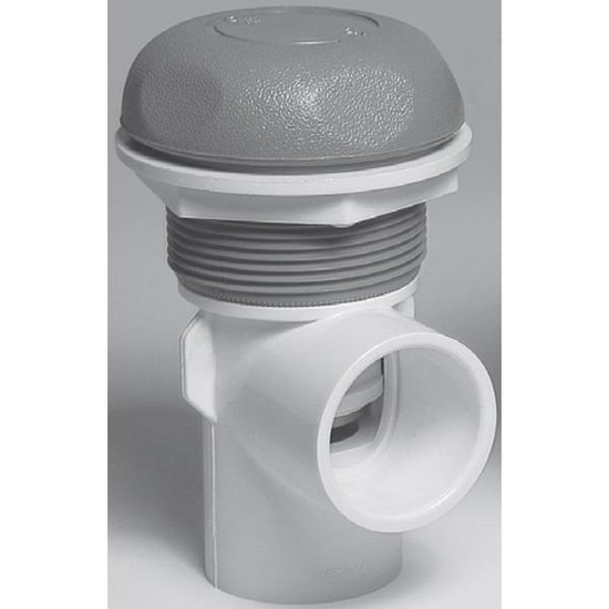 Waterway 1-1/2 in. On/Off Turn Valve Assembly - White