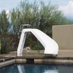 Inter-Fab White Water Pool Slide