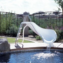 Inter-Fab Zoomerang Pool Slide