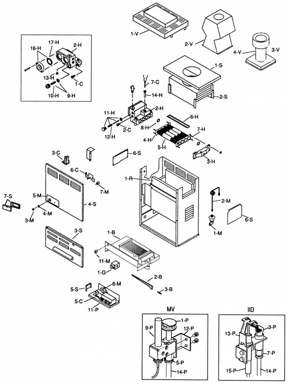 Raypak 105a Heater Replacement Parts Versa Wiring Diagram Product Image
