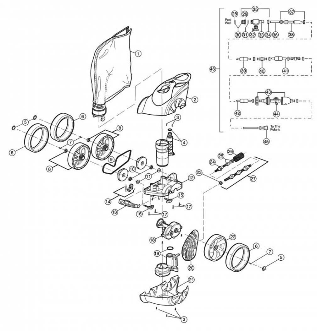 Polaris 3900 Sport Replacement Parts 1990 Ford Ranger Fuse Box Diagram
