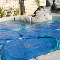 Automatic pool covers for odd shaped pools Shaped Solar Sun Rings Royal Swimming Pools Pool Covers