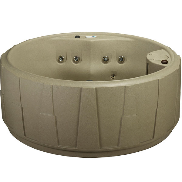 Aquarest 4-Person Spa with Ozone, Heater, 14 Stainless Steel Jets and LED Waterfall