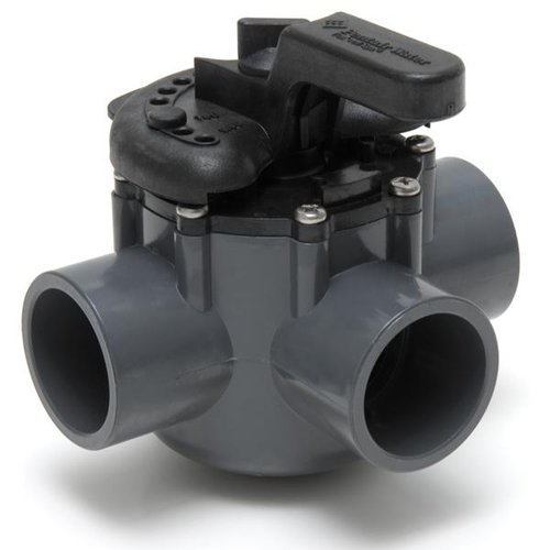 3port diverter valve 1 5 in  pvc