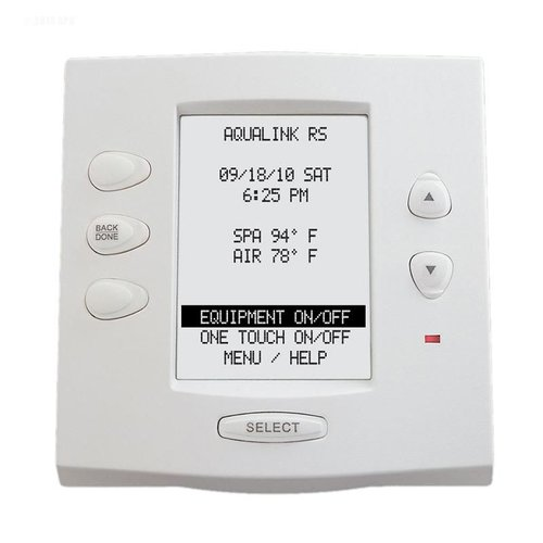Jandy 7953 Aqualink Rs Onetouch Wired White Control Panel