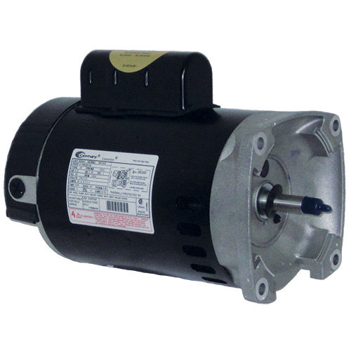 Century Ao Smith 1 1 2 Hp Pool Motor B2854 56y Square Flange 115 230v