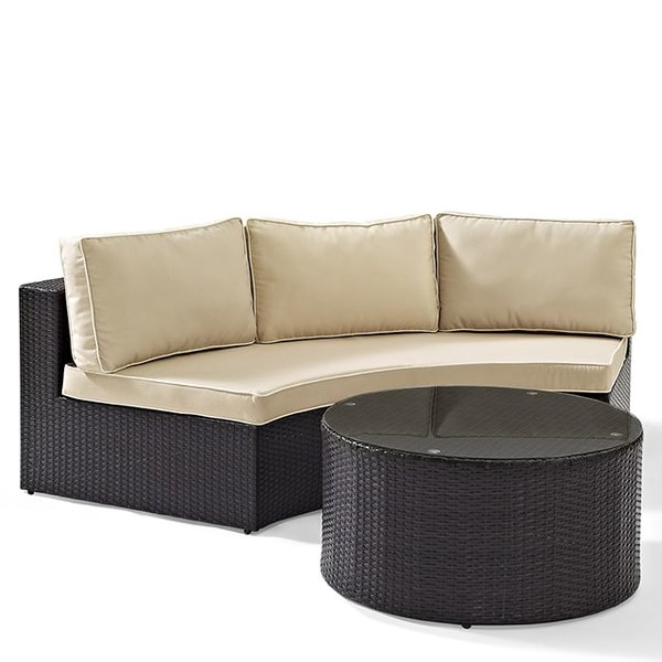 Catalina Wicker Sectional Set