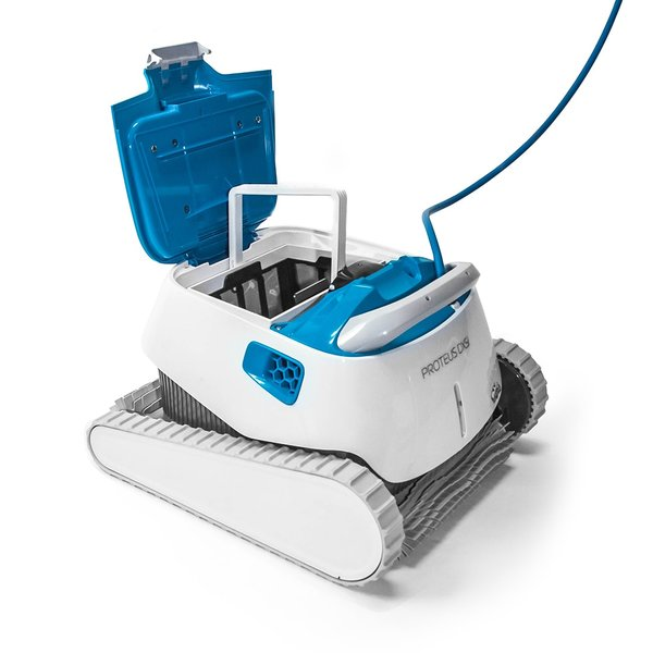 Dolphin Proteus Dx5i Robotic Pool Cleaner With Powerstream