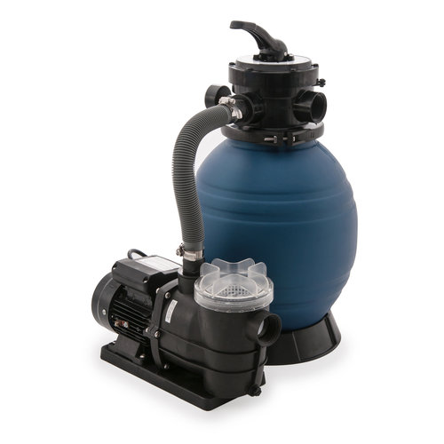 Oceania c740010 above ground pool filter and pump system for Obi filtersand pool