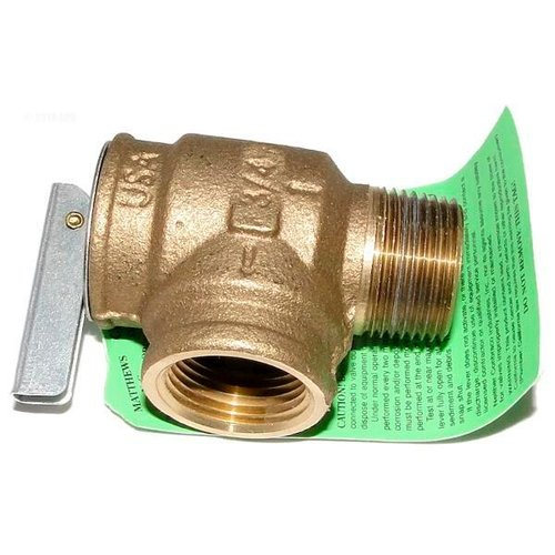 Jandy R0040400 75 Psi Pressure Relief Valve Bronze For Legacy