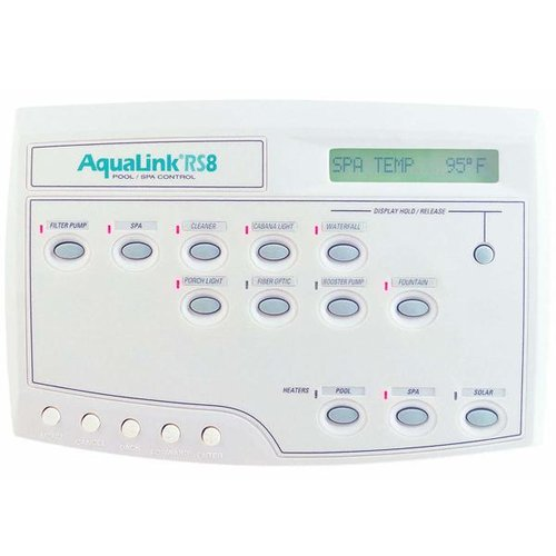 Jandy 6886 Aqualink Rs All Button Wired Combo Ps8 White