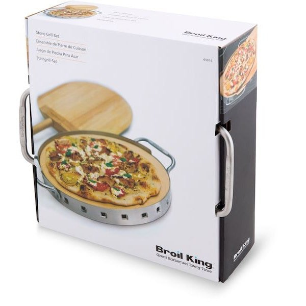 Broil King Pizza Stone Grill Set
