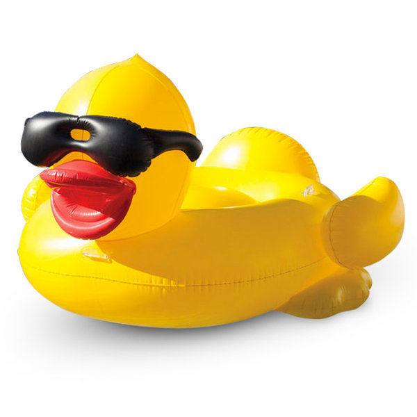 Giant Inflatable Duck Pool Float