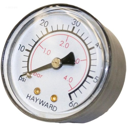 Hayward Ecx27091 Back Mount Pressure Gauge For Star Clear