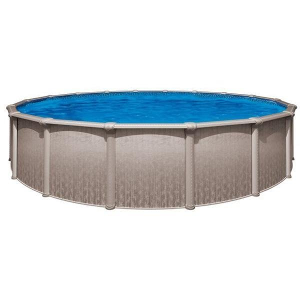 SHARKLINE HERITAGE 15\' x 26\' x 52in.Oval Above Ground Swimming Pool with  Skimmer