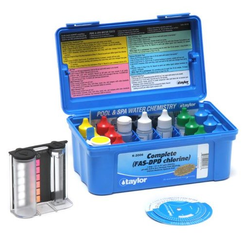 Taylor Complete Chlorine Pool And Spa Water Test Kit K 2006