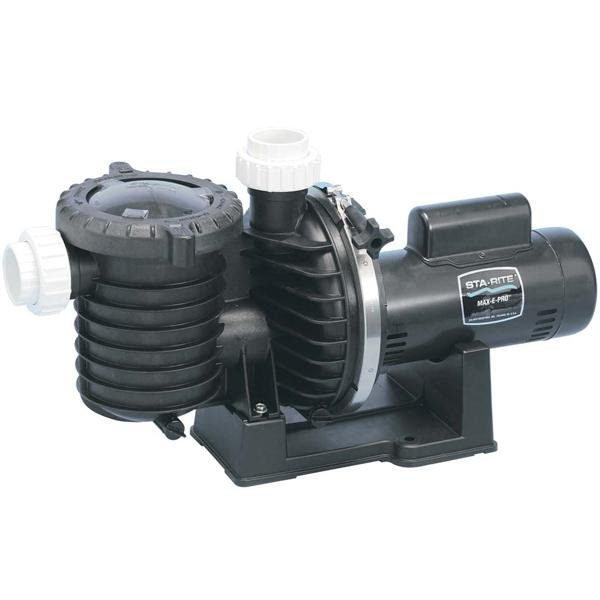 Sta-Rite Max-E-Pro Single Speed Up-Rated 2HP Pool Pump, 230V