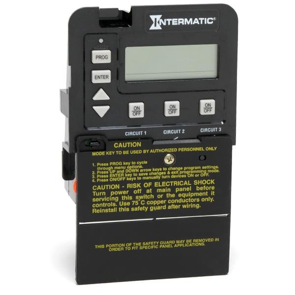 Intermatic P1353ME Time Switch, Black