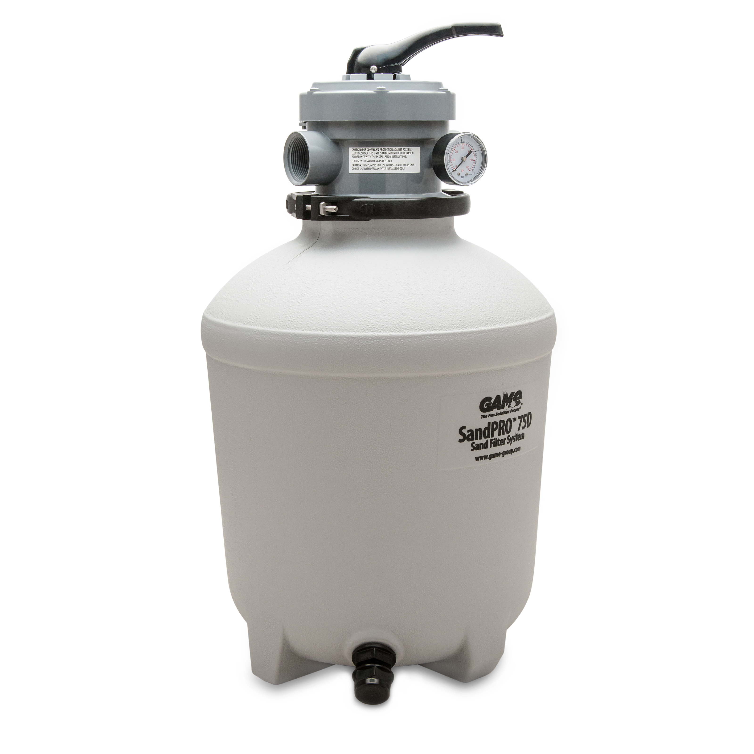 Game 3 4 Hp 15k Gallon 75d Sandpro Above Ground Pool Pump
