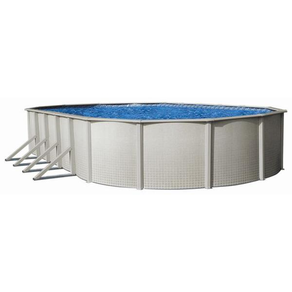 Sharkline reprieve 12 x 24 x 52 oval above ground - Above ground oval swimming pools for sale ...