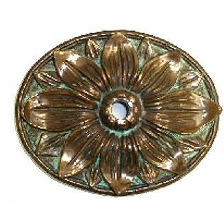 Pentair Wallsprings Rosette Sunflower Large Brass
