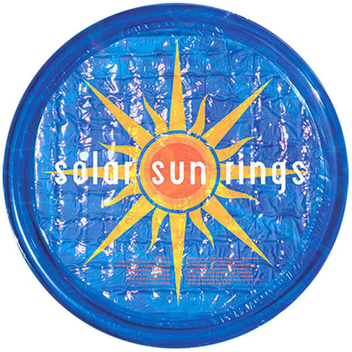 Pool Covers - Solar Sun Rings Sunburst Pattern - SR459865