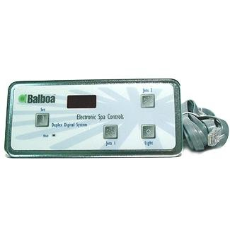 balboa 51248 generic panel vl404 duplex digital panel 2 jet buttons rh poolsupplyworld com Balboa Service Manual Balboa VS501 Manual