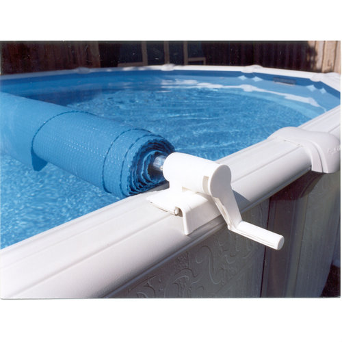 above ground pool solar covers. Feherguard FG-SRE-SR24 Surface Rider Above Ground Solar Cover Reel (Pools Up To 24\u0027) Pool Covers L
