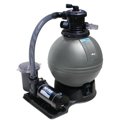 Waterway 520 5220 6s clearwater 19in sand filter above ground pool system with hi flo single - Pool filter sand wechseln ...